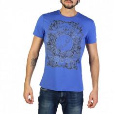 Tricou barbati Versace Jeans model B3GRB71B36641, culoare Albastru, marime M