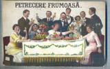 """AX 371 CP VECHE-GRUP IN TINUTA DE EPOCA -,,PETRECERE FRUMOASA""""- CIRCULATA 1923"""