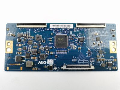 LVDS T-CON 55T32-C0F  Din Philips 43PUS6162/12 Ecran TPT430U3 -QVN03.U foto