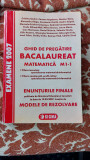 GHID DE PREGATIRE BACALAUREAT. MATEMATICA M1 -1 CRISTINA ANDREI,CARMEN ANGELESCU