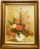Natura statica cu flori - Lucretia Megyesi, Ulei, Altul