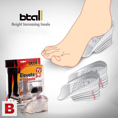 Branturi din silicon Btall inaltatoare pentru pantofi foto