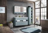 Set Mobilier pentru baie, 4 piese, Bahama Mint XL