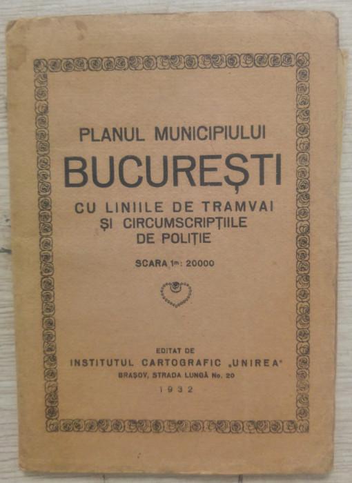 Planul Municipiului Bucuresti si imprejurimile// 1932
