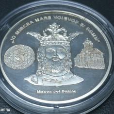 Romani Mari medalie argint pur Mircea cel Batran