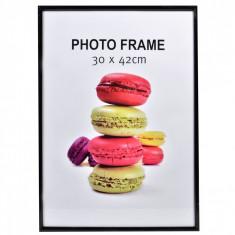Rama foto, model cadru negru, 30×42 cm