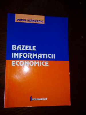 Dorin Lixandroiu Bazele informaticii economice foto