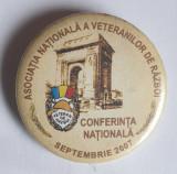 Insigna Asociatia nationala a veteranilor de Razboi