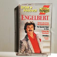 caseta audio ENGELBERT - Selectii - (1987/Ariola/RFG) - stare: Perfecta