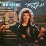 "C.C. Catch - Strangers by Night (1986, Hansa) Disc vinil single 7"""
