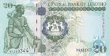 Bancnota Lesotho 20 Maloti 2009 - P16g UNC