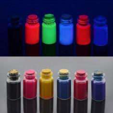 Cerneala fluorescenta vizibila pentru imprimante Epson, set 6 culori