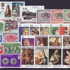 1908 - lot timbre Commonwealth,serii complete neuzate.