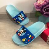 Cumpara ieftin Papuci bleu de vara cu Mickey pentru copii baieti 28 29