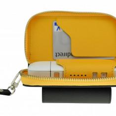 Husa din piele galbena pentru IQOS - GC-3 | German Couture