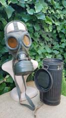Masca de gaze germana, WW2 foto