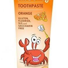Pasta naturala de dinti cu portocale pt copii Jason, 119g