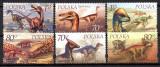 POLONIA 2000, Fauna, Animale preistorice, Dinozauri, serie neuzată, MNH, Nestampilat