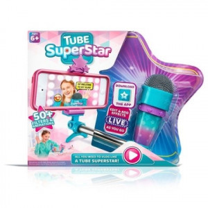 Tube Superstar microfon cu suport selfie