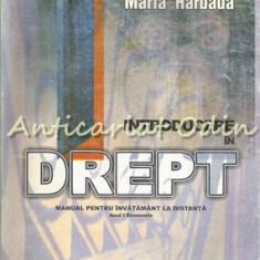 Introducere In Drept - Maria Harbada