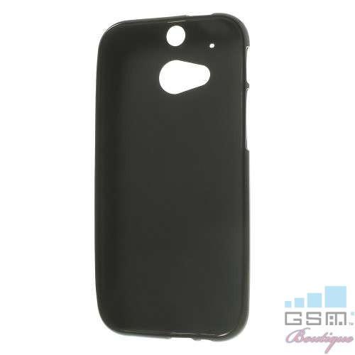 Husa HTC One Mini 2 M8 TPU Neagra