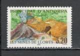 Andorra Franceza.1990 Minele Llorts  MA.91