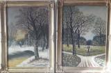 Pictura tablouri artist maghiar din Transilvania semnat Deak J ( Janos ) 1961, Natura, Pastel, Altul