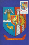 TSV* - MAXIMA DIMBOVITA - STEMA JUDETULUI HERALDICA `77 STAMPILA 2