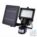 Corp Iluminat Exterior Tip Aplica LED Cu Proiector Si Panou Solar