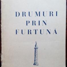 ARON COTRUS - DRUMURI PRIN FURTUNA (VERSURI, editia princeps - MADRID 1951)