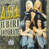 Vand cd audio Asia - Iubiri Adevarate, original, holograma, mediapro music