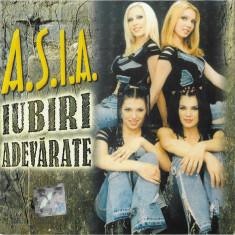 Vand cd audio Asia - Iubiri Adevarate, original, holograma