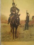 Carte Poștală veche, de colecție, Uniformele Armatei Române, Călărașii