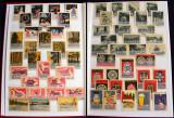 1950-1970, Clasor cu 500 etichete de chibrituri straine