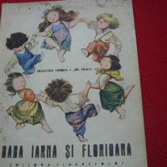 BABA  IARNA  SI  FLORIOARA   ( 1965, rara, ilustrata color ) *