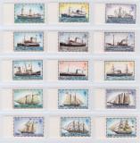 FALKLAND ISLAND 1978-Serie completa de 15 timbre CORABII-MNH