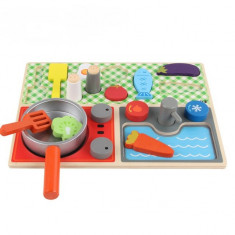 Set de joaca pentru copii prima bucatarie multicolor
