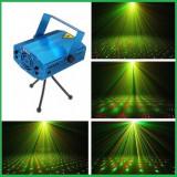 Proiector Discoteca Laser Discoteca Trepied Inclus Lumini Rosu Verde