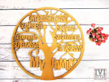 Cumpara ieftin Decoratiune Copac din Lemn In aceasta casa