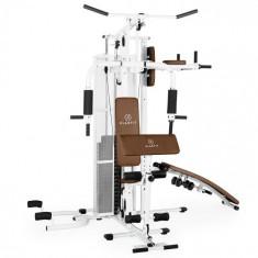 Cumpara ieftin KLARFIT Ultimate Gym 5000 fitness multifuncțional stație de alb