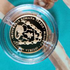 Moneda aur10 lei 2020 Istoria aurului - Obiecte de orfevrărie romană târzie