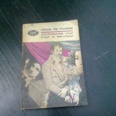 CONFESIUNEA UNUI COPIL AL SECOLULUI - ALFRED DE MUSSET