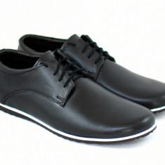 Pantofi barbati sport - casual din piele naturala 880NBOX