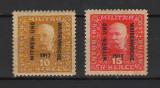TIMBRE 140d, AUSTRIA; BOSNIA-HERTEGOVINA, 1917, FRANZ JOSEPH, VADUVE SI ORFANI