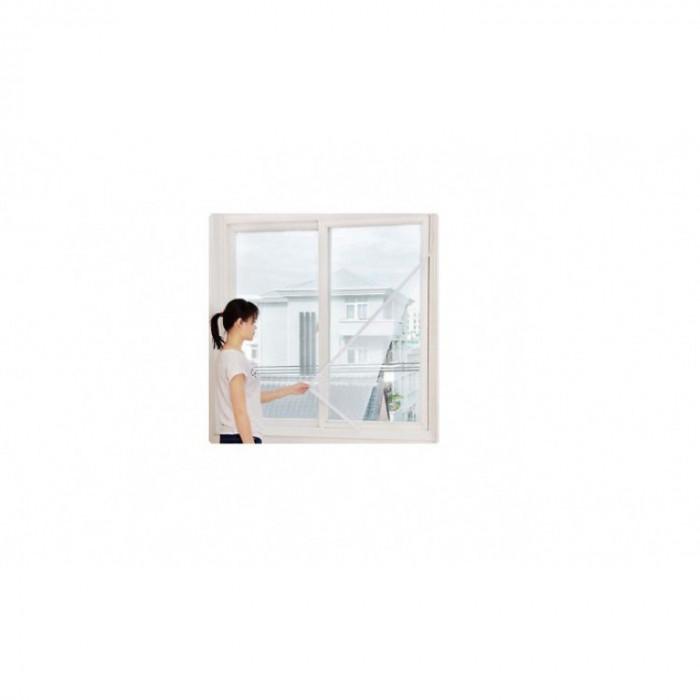 Set 3xPlasa anti-insecte pentru fereastra 130 x 150 cm - aplicare rapida