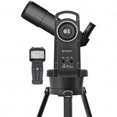 Telescop refractor Bresser Automatik 80/400 GOTO, accesorii incluse