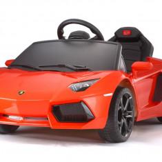 Masinuta electrica pentru copii Lamborghini Aventador LP 700-4 #Portocaliu
