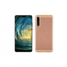 Husa Telefon Plastic Huawei P20 Pro Mesh Gold