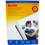 Hartie foto Kodak 5R 13X18 Ultra Premium SATIN 270g/mp pachet 20 coli