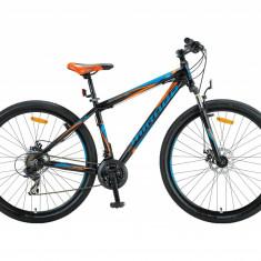 """Bicicleta MTB Umit Mirage 2D, Roata 26"""", Aluminiu , Cadru 20"""", 21 Viteze , CuloaPB Cod:2667020000, Discuri"""